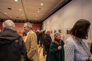 20.01.2019. vernissage St-Josef, PFB, Grüner Güggle. Exposition des activités de l'association. Jardin Urbain.